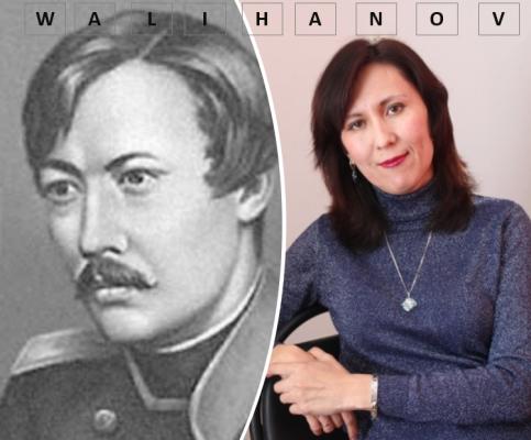 Shoqan Walikhanov and Rena Zhumanova